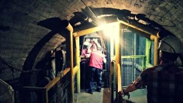 Ascensores de acceso a la mina