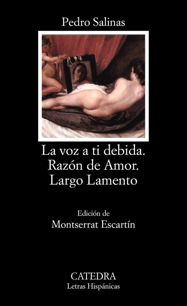 """La voz a ti debida"", de Pedro Salinas"