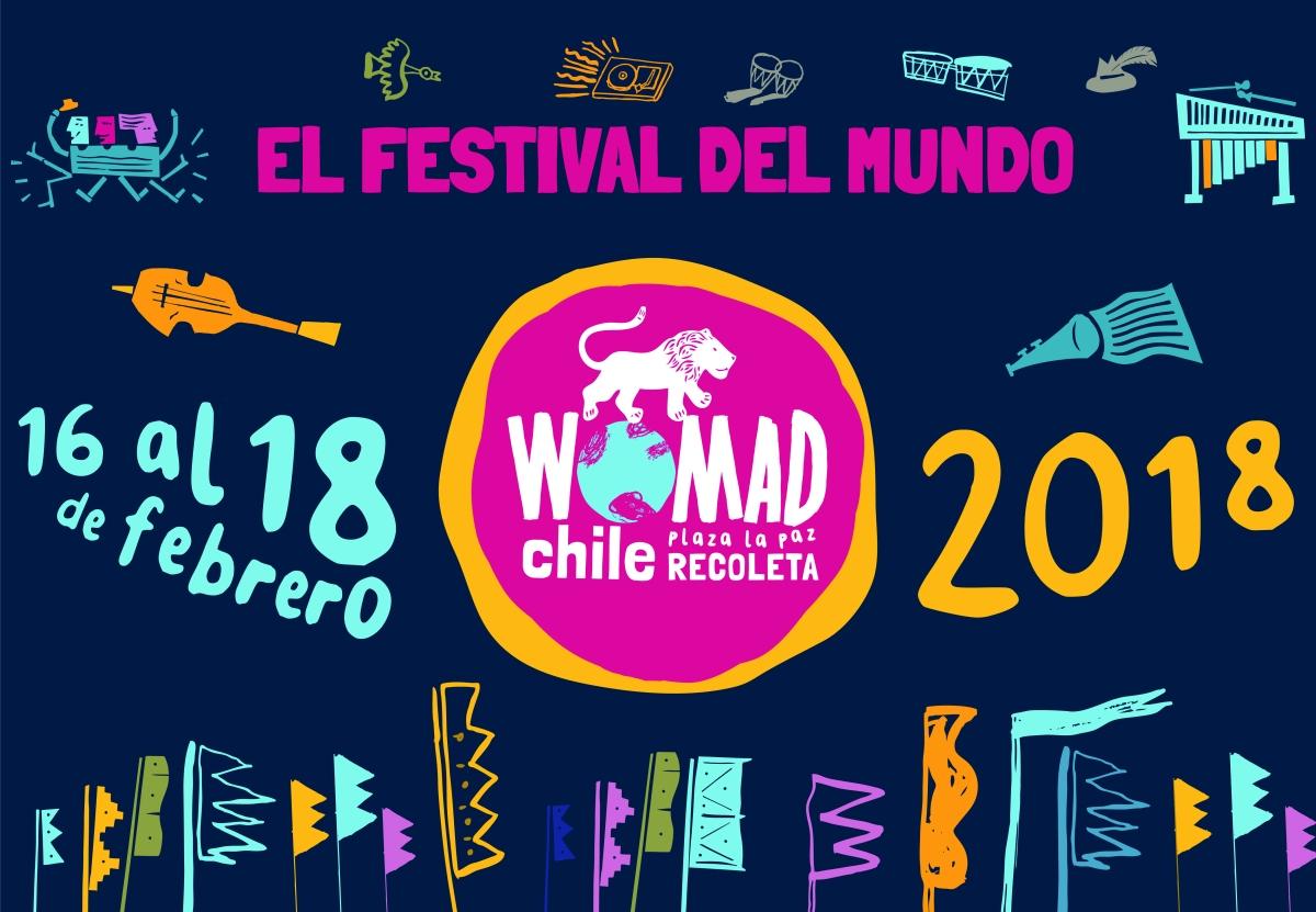 Festival Womad Chile 2018 tiene a sus primeros artistas confirmados