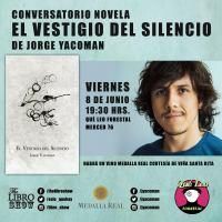 """Jorge Yacoman lanza """"El vestigio del silencio"""""""